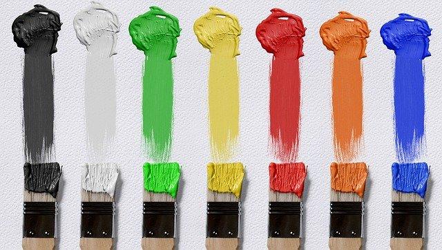 łączenie kolorów w mieszkaniu